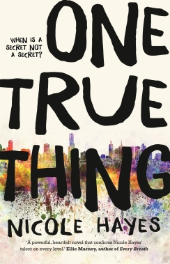 One True Thing - I love the cover!
