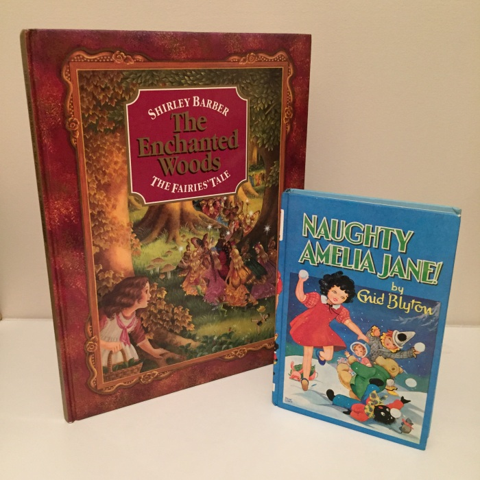 Nostalgia buys - Naughty Amelia Jane by Enid Blyton and The Enchanted Woods by Shirley Barber