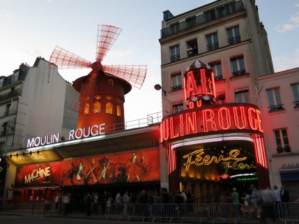 The Moulin Rouge - photo taken by thebookkat