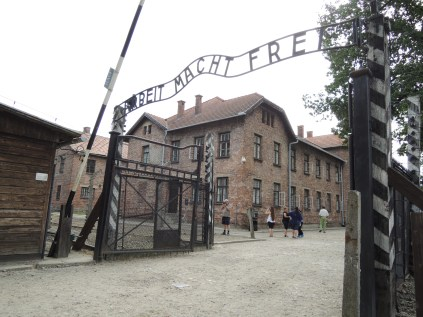The Gates to Auschwitz - 'Arbeit Macht Frei' ('Work sets you free'