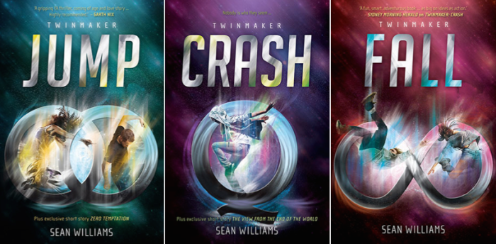 Jump, Crash and Fall - The Twinmaker series by Sean Williams